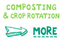 Organic gardening – composting and crop rotation