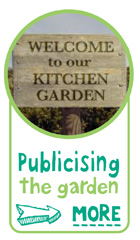 publicising the garden - Find out more