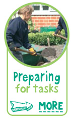 preparing for tasks - Find out more